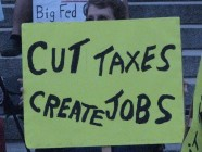 Cut Taxes Crreate Jobs